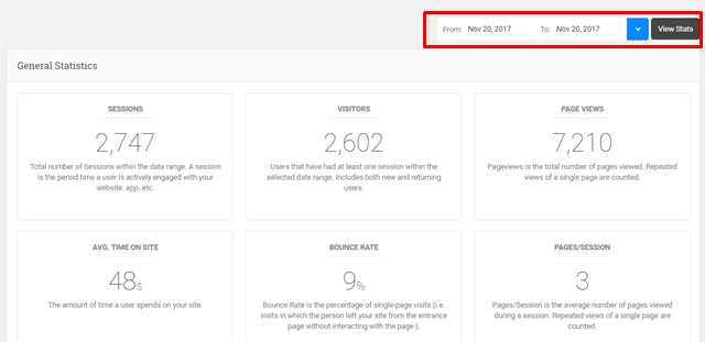 【プラグイン】Google Analytics Dashboard Pluginの見方