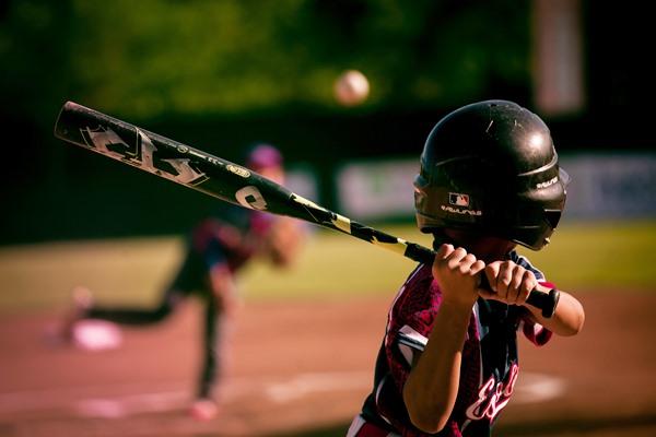 自分のために野球をしてる少年